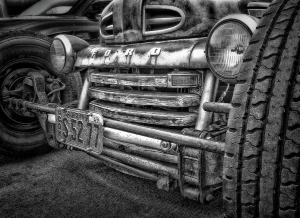 Tire Photograph - 1949 Ford by Larry Marshall