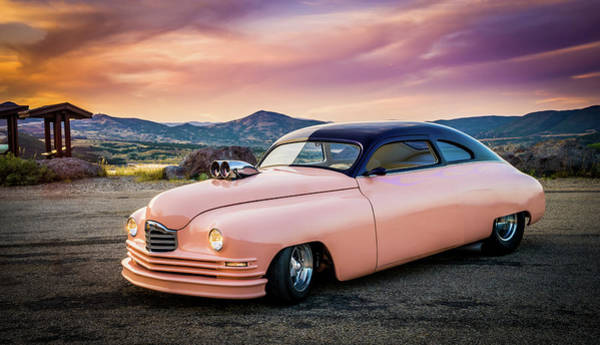Photograph - 1949 Packard On Top Of The World by TL Mair