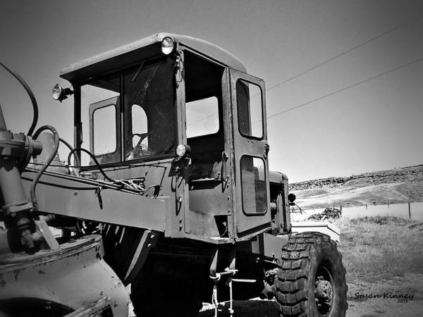 Photograph - 1950 Austin Western Grader by Susan Kinney
