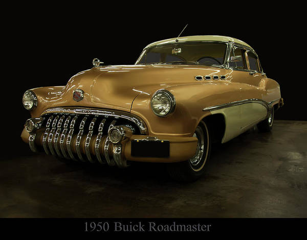 Photograph - 1950 Buick Roadmaster by Chris Flees