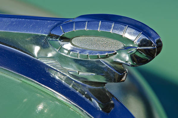 Photograph - 1950 Dodge Hood Ornament by Jill Reger