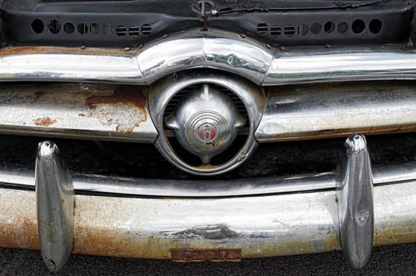 Photograph - 1950 Ford Emblem by Sharon Popek