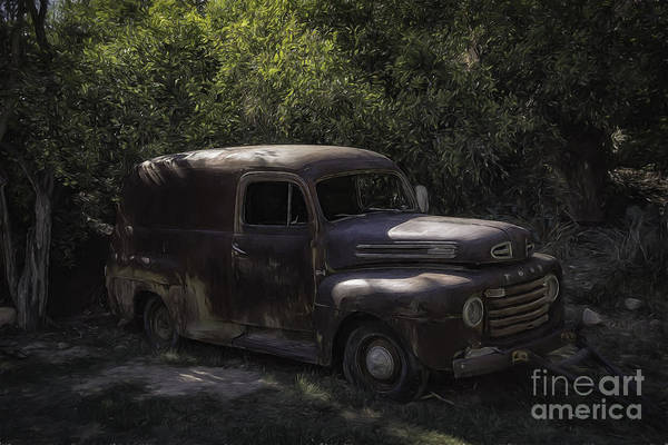 Photograph - 1950 Ford Panel Truck  by Bitter Buffalo Photography