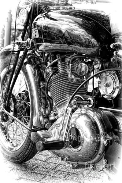 Casing Wall Art - Photograph - 1950 Hrd Vincent Meteor by Tim Gainey