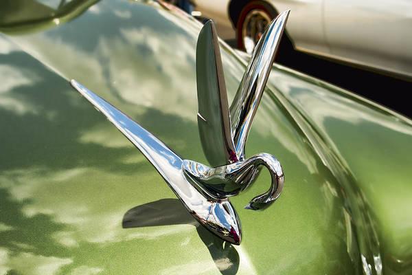 Photograph - 1950 Packard Eight Hood Ornament by Kristia Adams