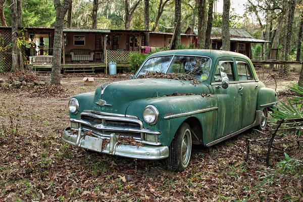 Cedar Key Photograph - 1950 Plymouth Special by Jurgen Lorenzen