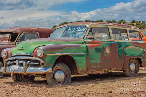 Photograph - 1950 Plymouth Suburban by Tony Baca