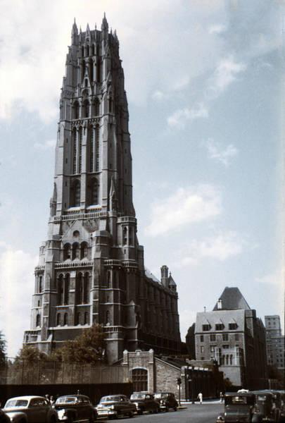 Photograph - 1950 Riverside Church Ny by Marilyn Hunt