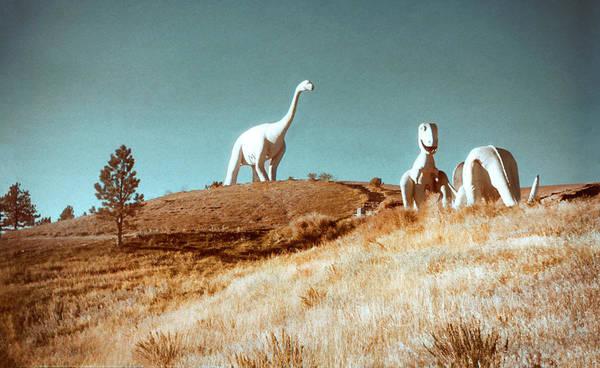 Photograph - 1950s Dinosaur Park by Marilyn Hunt