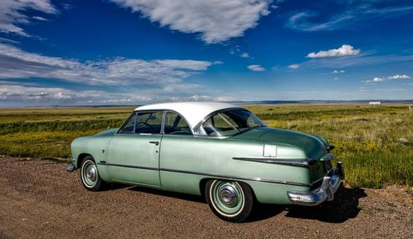 Laramie Photograph - 1950s Ford Crown Victoria by Mountain Dreams