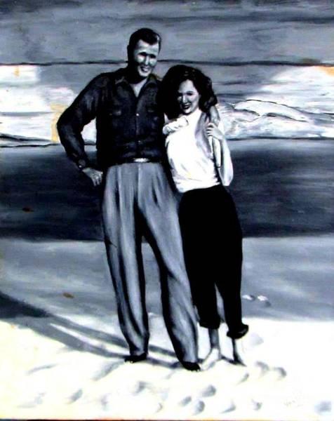 Painting - 1950s by Georgia's Art Brush