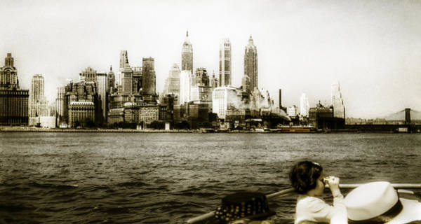 Photograph - 1950s Lower Manhattan Ny by Marilyn Hunt
