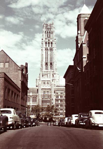 Photograph - 1950s Riverside Church New York by Marilyn Hunt