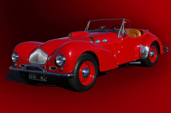Photograph - 1951 Allard K2 Roadster by Jill Reger