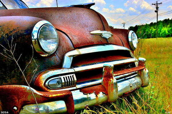 Wall Art - Photograph - 1951 Chevrolet Power Glide by Lisa Wooten