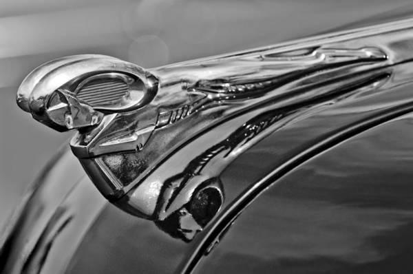 Photograph - 1951 Dodge Pilot House Pickup Hood Ornament 2 by Jill Reger