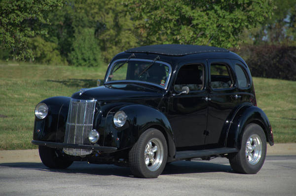 Photograph - 1951 English Ford Prefect Street Rod Sedan by Tim McCullough