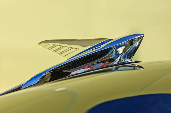 Photograph - 1951 Ford Hood Ornament 2 by Jill Reger