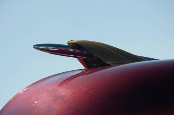 Photograph - 1951 Mercury Hood Ornament by Chris Flees