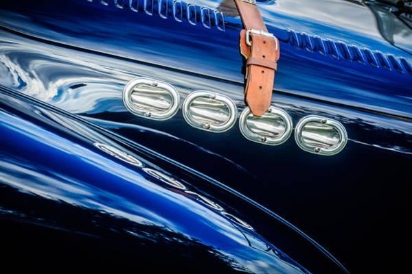 Photograph - 1952 Allard K2 Hood -0600c by Jill Reger