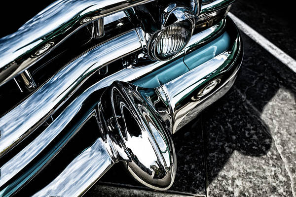 Photograph - 1952 Cadillac Bumper by M G Whittingham