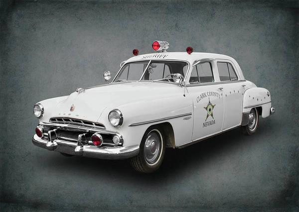 Wall Art - Digital Art - 1952 Dodge Clark County Nevada Sheriff by Daniel Hagerman