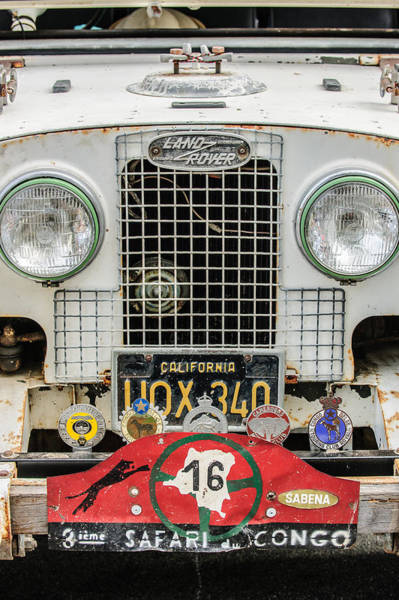 Photograph - 1952 Land Rover 80 Grille -1003c by Jill Reger