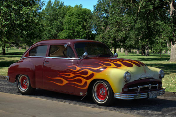 Photograph - 1952 Plymouth Concord Custom by Tim McCullough