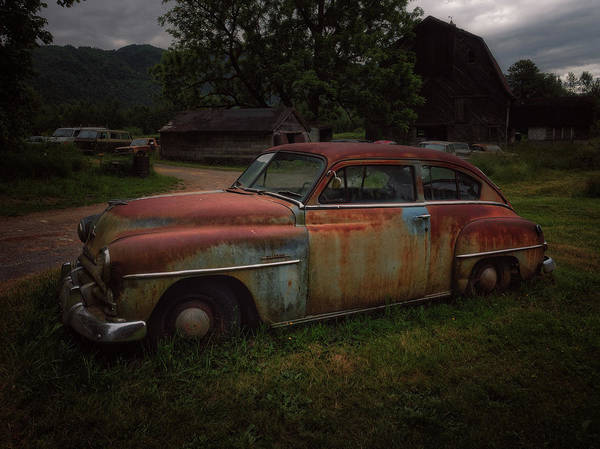 Photograph - 1952 Plymouth Concord by Thomas Hall