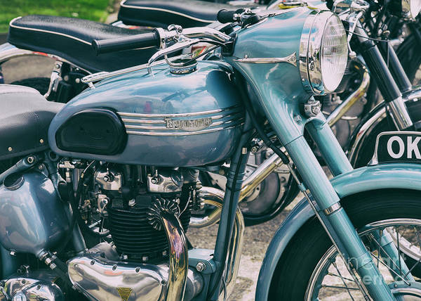 Photograph - 1952 Triumph Thunderbird by Tim Gainey