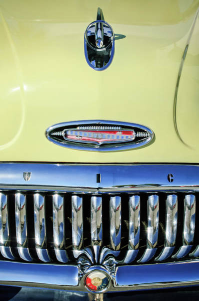 1953 Photograph - 1953 Buick Special Hood Ornament by Jill Reger