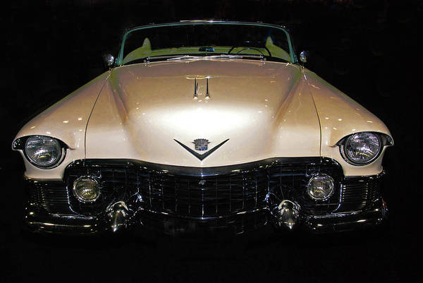 Photograph - 1953 Cadillac Le Mans Custom 2 Seat Convertible by Bill Jonscher