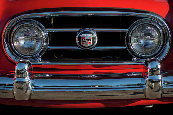 Photograph - 1953 Nash Healey Roadster Grille by Jill Reger