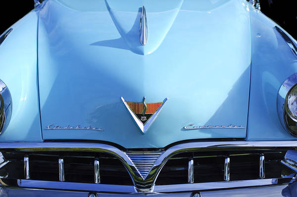 Wall Art - Photograph - 1953 Studebaker Emblem by Jill Reger
