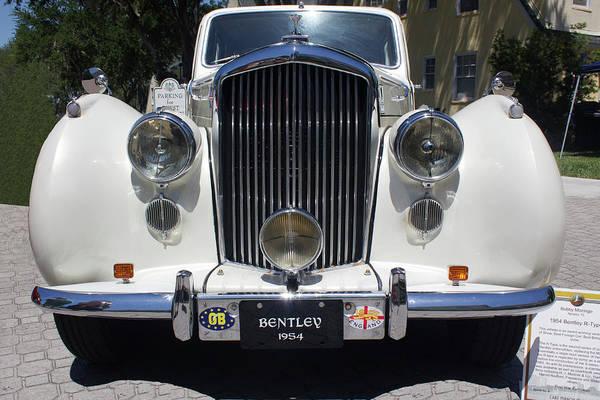 Photograph - 1954 Bentley by Carlos Diaz