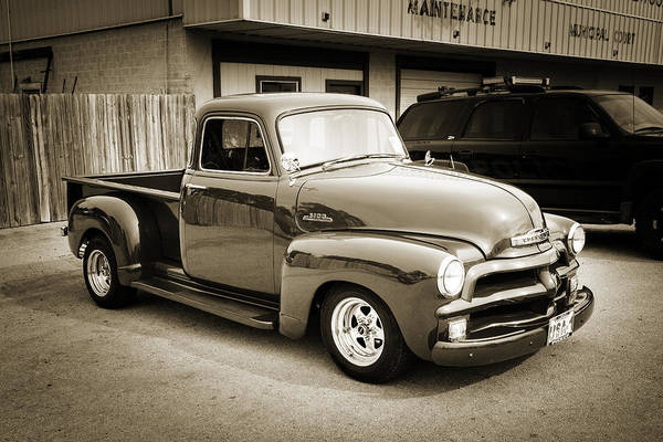 Photograph - 1954 Chevrolet Pickup Classic Car Photograph 6736.01 by M K Miller