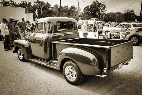Photograph - 1954 Chevrolet Pickup Classic Car Photograph 6737.01 by M K Miller