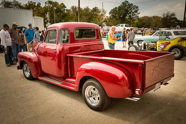 Photograph - 1954 Chevrolet Pickup Classic Car Photograph 6737.02 by M K Miller