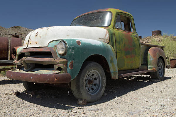Wall Art - Photograph - 1954 Chevy Pickup by Rick Mann
