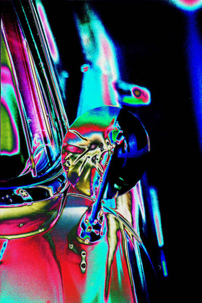 Photograph - 1954 Ford Side Mirror by Richard Henne