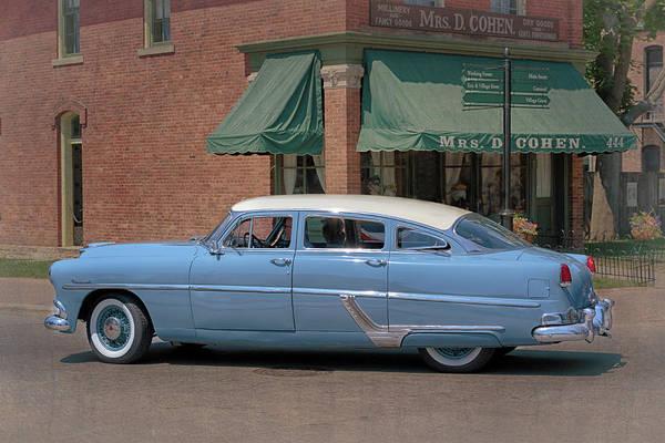 Photograph - 1954 Hudson Hornet by Susan Rissi Tregoning