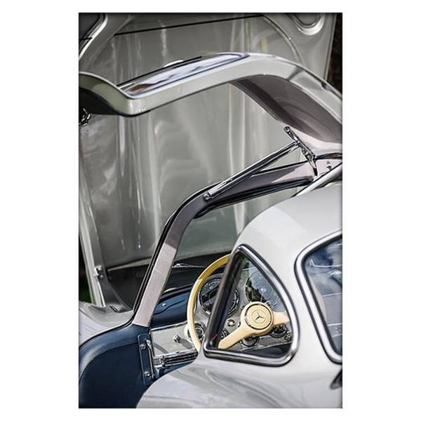 Wall Art - Photograph - 1954 Mercedes-benz 300sl Gullwing by Jill Reger