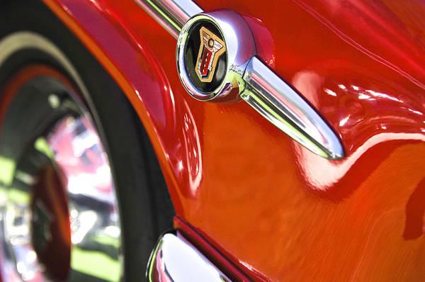 Photograph - 1954 Mercury Monterey Emblem by Jill Reger