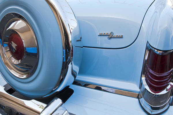 Photograph - 1954 Mercury Monterey Merc O Matic Spare Tire by Jill Reger