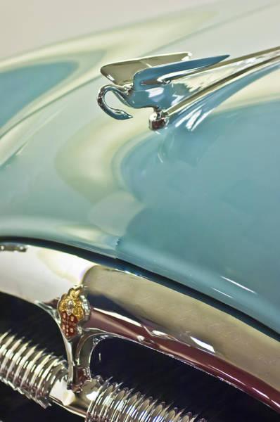 Photograph - 1954 Packard Cavalier Hood Ornament 2 by Jill Reger