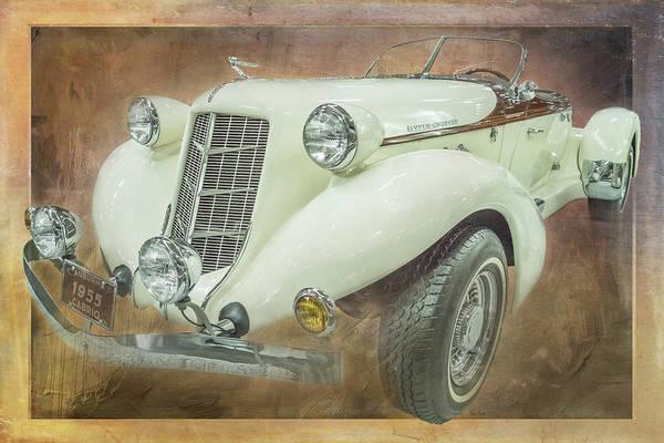 Digital Art - 1955 Auburn Cabrio by Ramona Murdock