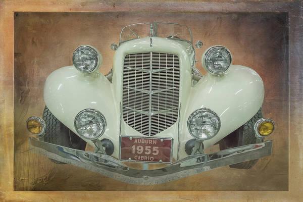 Digital Art - 1955 Cabrio Front End by Ramona Murdock
