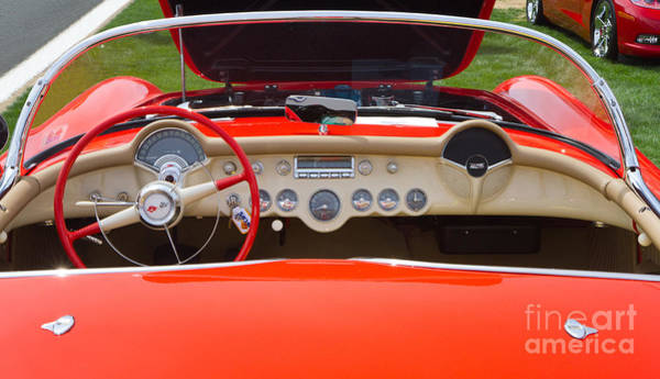 Photograph - 1955 Corvette by Kevin McCarthy