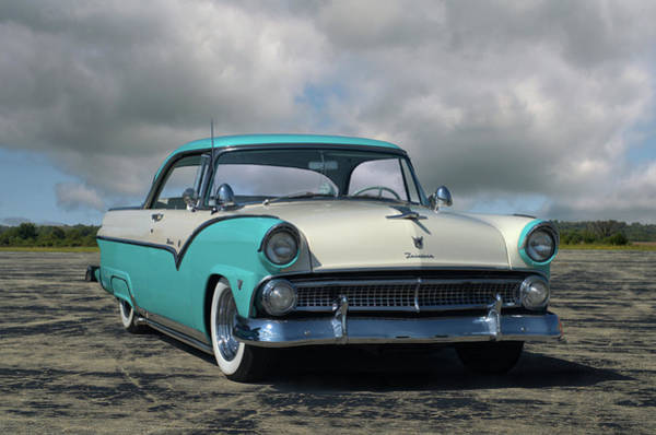Photograph - 1955 Ford Fairlane Victoria by Tim McCullough