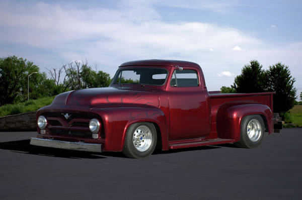 Photograph - 1955 Ford Pickup by Tim McCullough